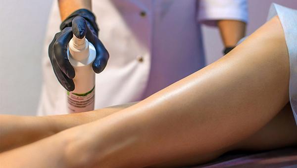 обработка кожи после процедуры